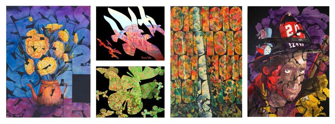 Fractal Geometry of Nature in Art