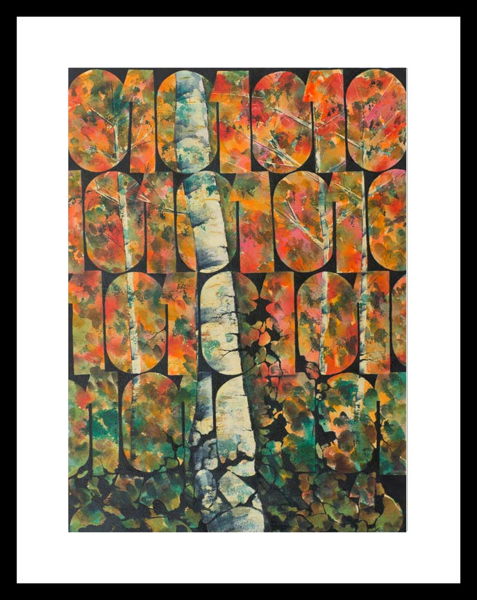 Tooley Art Studio digital-birch-autumn