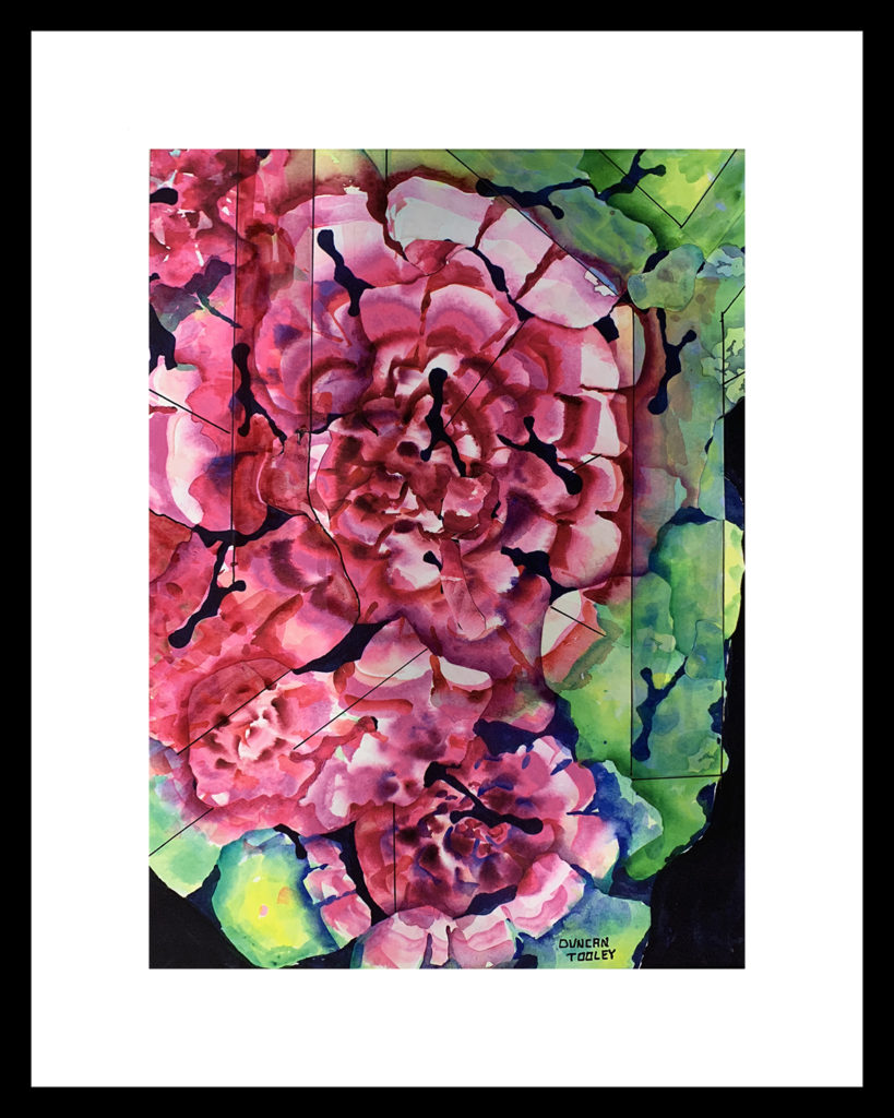 Fractal Fantasy Flower Joy by Duncan Tooley