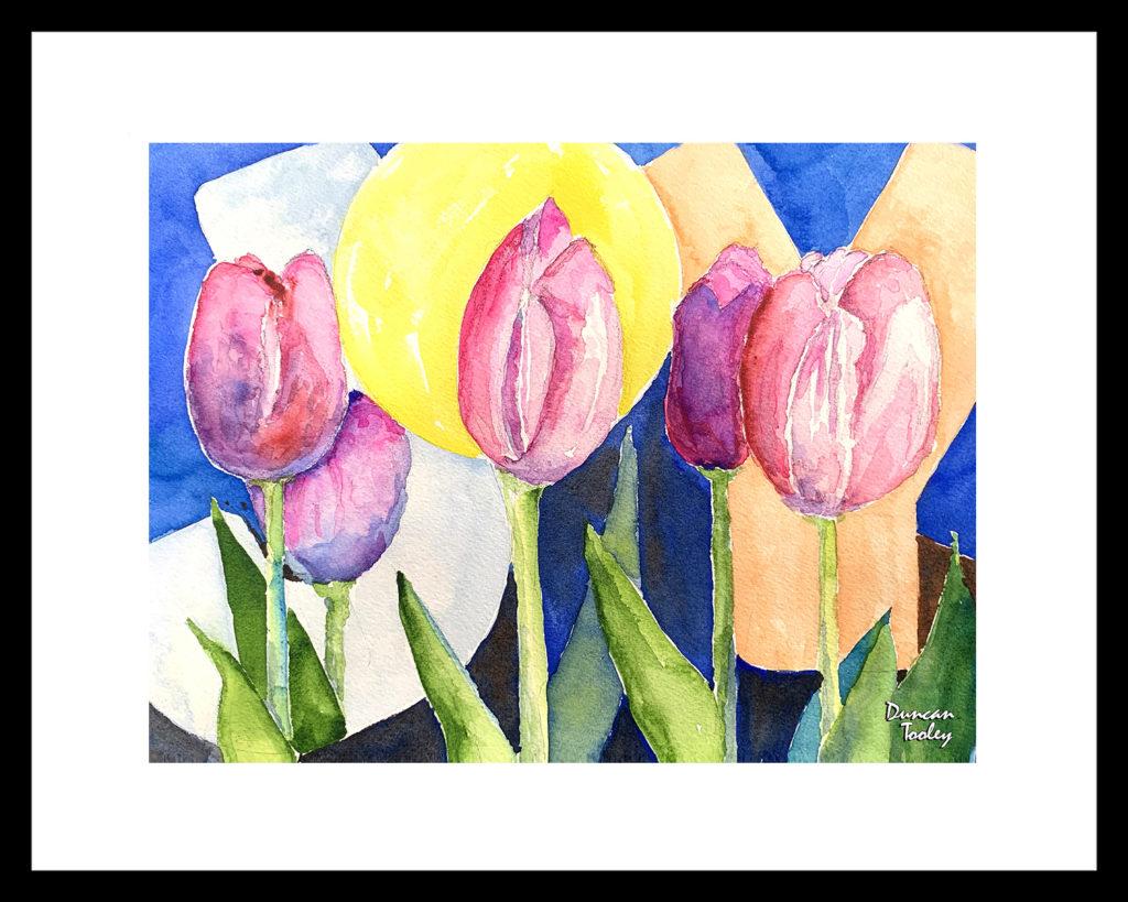 Lavender Tulip Joy by Duncan Tooley