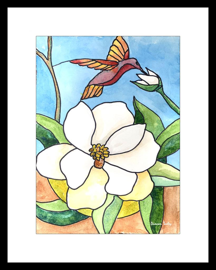 Magnolia Joy by Duncan Tooley
