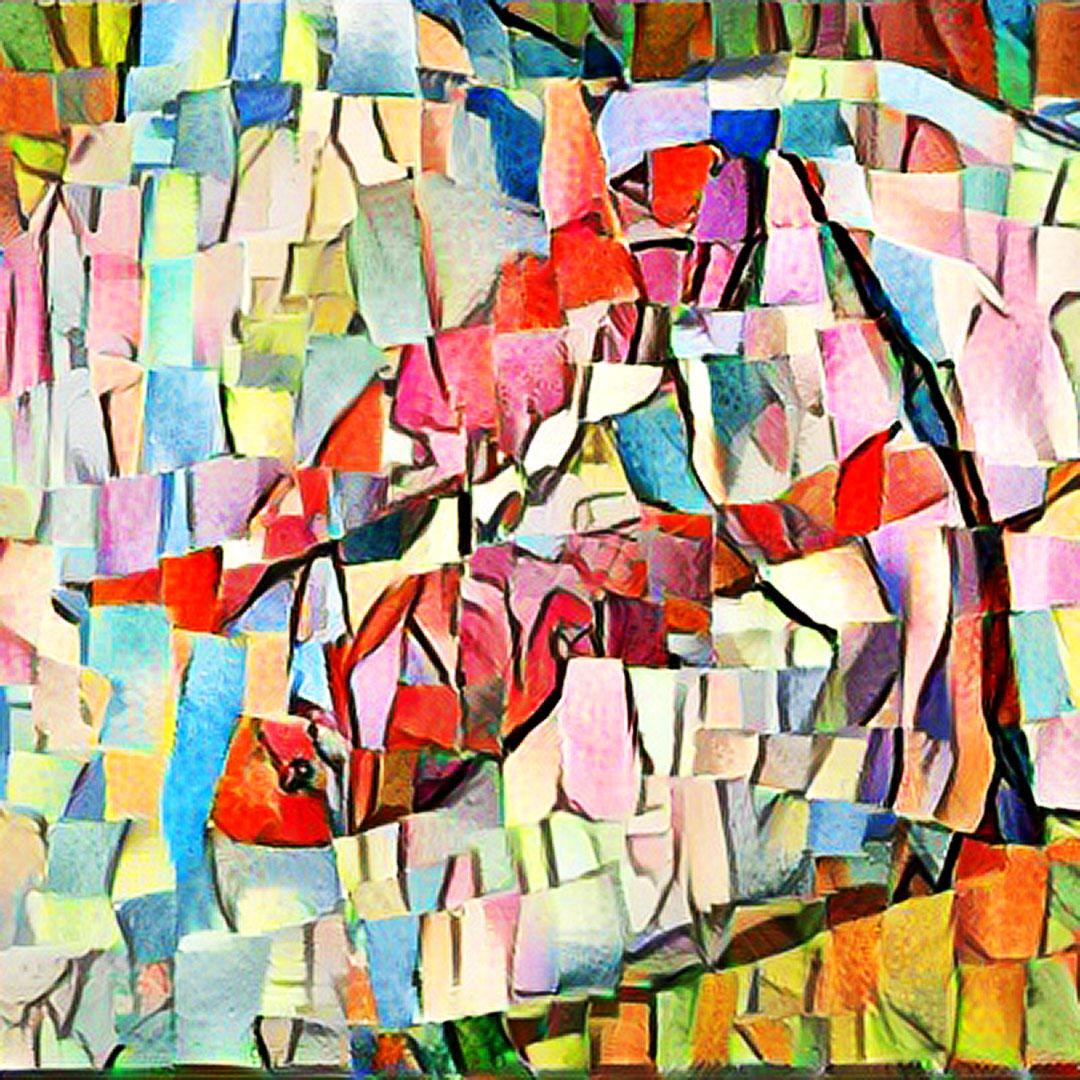 Duncan Tooley Art Studio - Woven fish tribute to Monet