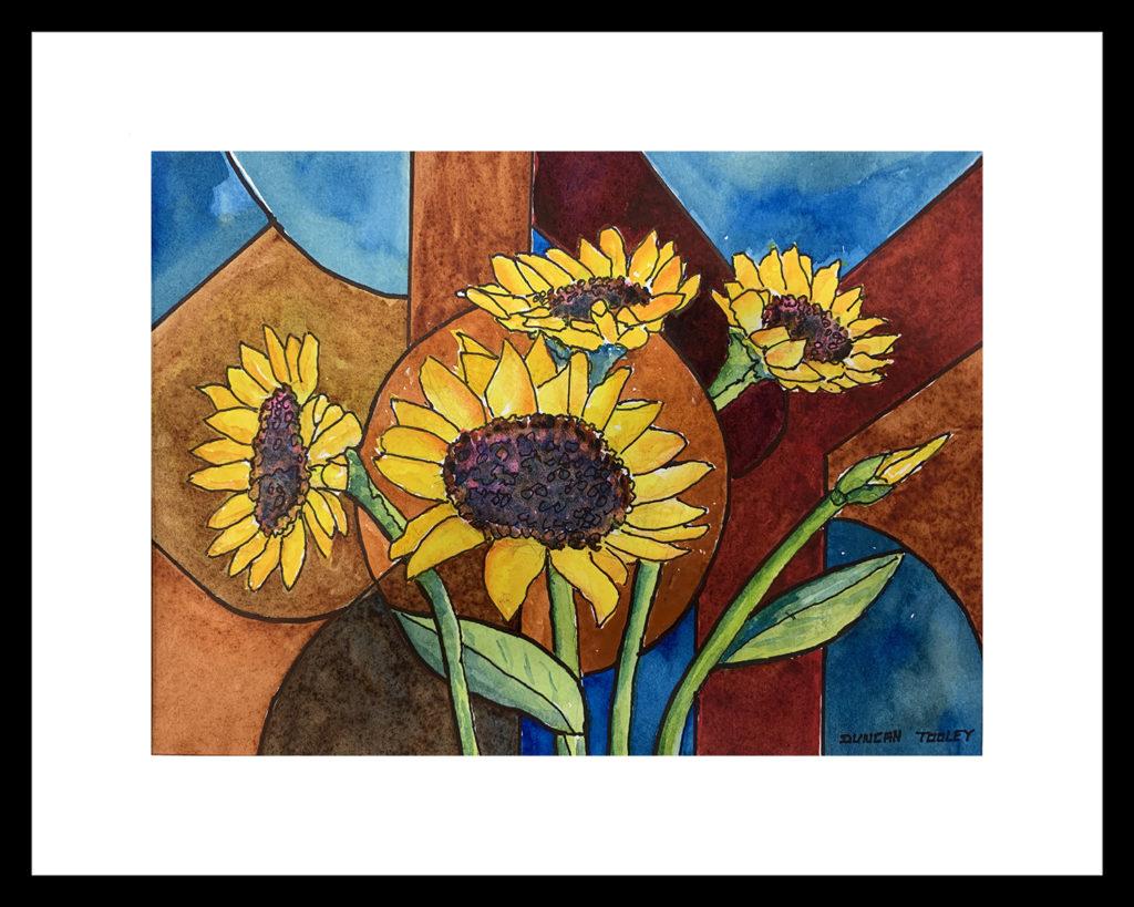 sunflower-joy by Duncan Tooley